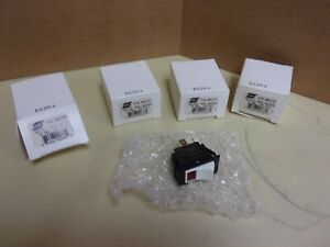 Esab 2062272 Illuminated Dpst Rocker Switch 15 Amp 125 Volt Lot Of 4 New