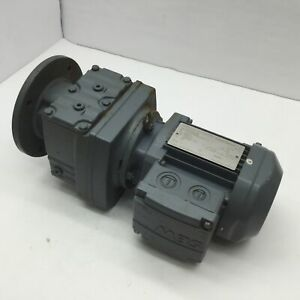 Sew Eurodrive Rf37 Dr63m6 Gear Motor 105 28 1 Rpm 8 5 Shaft 1 220v 50hz 134nm