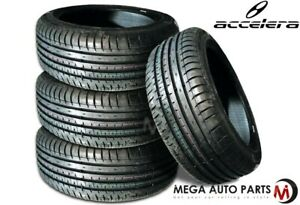 4 Accelera Phi R 225 35r17 86y All Season Ultra High Performance Uhp Race Tires