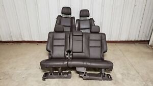 2014 Jeep Grand Cherokee Summit Seats Front Rear Left Right Brown Leather Oem