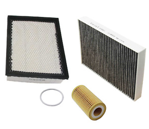 Air Filter Oil Filter Ac Cabin Filter Carbon Volvo S60 V60 Xc60 Xc70 L5 11 16