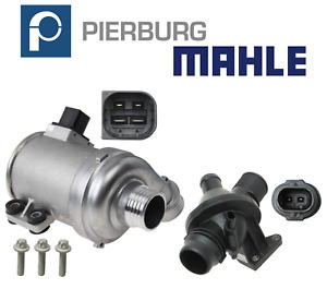 Electric Water Pump W Bolts Thermostat Assembly Kit Oem Pierburg Mahle Bmw 2 0l