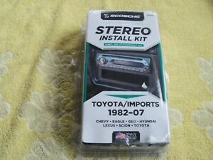 Scosche Stereo Install Kit Car Truck Toyota Imports 1982 07