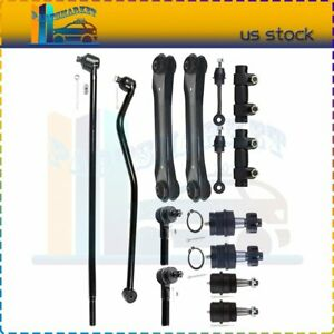 Fits For Jeep Grand Cherokee Suspension Kit 14pcs Control Arm Ball Joints Parts
