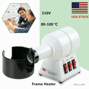 Quality Frame Heater Hot Air Eyeglasses Frame Warmer 500w Quick Heating Repair
