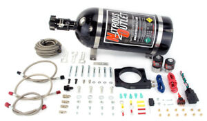 Nitrous Outlet 90mm Magnacharger Nitrous Plate Kit 15lb Bottle