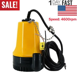 Dc 12v Micro Mini Submersible Pump Immersible Pump Bilge Water Pump Outdoor 50w