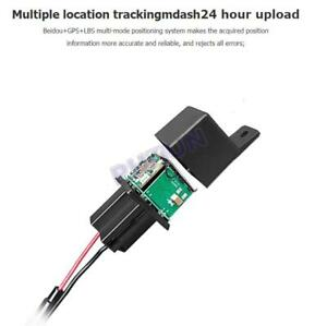 Car Gps Tracker Device Lbs Tracking Monitoring Gsm Sms App Locator Anti Theft