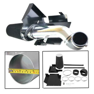 4 Cold Air Intake System Kit Heat Shield Fit 99 06 Silverado V8 4 8l 5 3l 6 0l