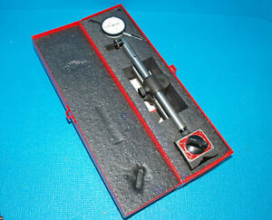 Starrett 659 az Magnetic Indicator Stand With 0 1 Dial Indicator 25 441
