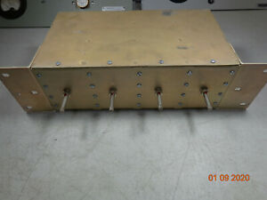 Emr Uhf Radio Repeater Band Pass Cavity Duplexer 65534 W brackets Tuned 460 300