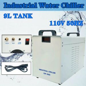 Cw 3000 110vthermolysis Industrial Water Chiller For Cnc Co2 Laser Tube Engraver