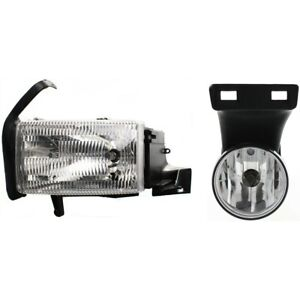 Auto Light Kit For 99 2002 Dodge Ram 2500 Left Kit