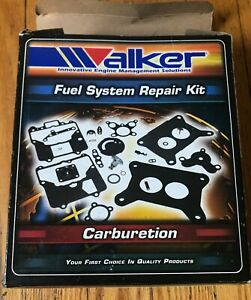New Carburetor Fuel System Repair Kit Walker Products 15480a
