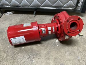 Bell Gossett 1 1 2 Hp E625t Cast Iron In Line Centrifugal Hot Water Pump