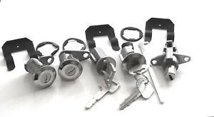 New Complete Lock Set For Ford Galaxie 1966 68 fairlane 1967 mustang 1967 68