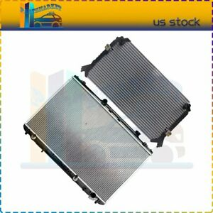 4345 1428 Ac Condenser radiator Assembly For 1992 1994 Toyota Camry 2 2l