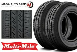 2 Multi Mile Classic All Season 165 80r15 87t Tires