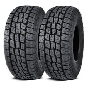 2 Lexani Terrain Beast At 225 75r16 115 112s 10ply E All Terrain Truck Suv Tires