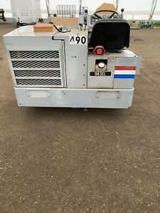 Clarke American Lincoln 3300 Diesel Industrial Riding Sweeper Low Hours Rebuilt