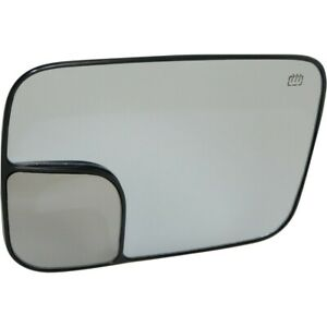 Mirror Glass Right Hand Side Heated For Ram Truck Passenger Rh 1500 Ch1325121