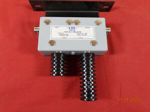 Emr Celwave Vhf Radio Repeater Band Pass Cavity Dual Rf Isolator 8450 34 159 472