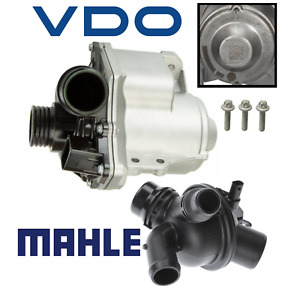 Oem Electric Water Pump W Bolts Thermostat Assembly Kit Vdo Mahle Bmw 3 0l