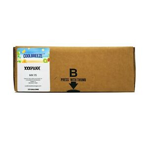 Coolbreeze Xxxplode Energy Drink Syrup 2 5 Gallon Bag In Box