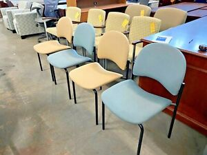Guest Side Stack Chair W o Arms By Allseating