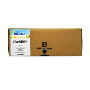 Coolbreeze Cranberry Juice Syrup Concentrate 2 5 Gallon Bag In Box