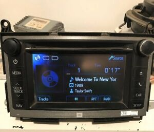 Toyota Venza Stereo Touch Screen Radio Jbl Oem 86140 0t090 59038