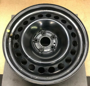 3858 17 Inch Ford Explorer 2011 2017 Black Steel Oem Factory Original Wheel Rim