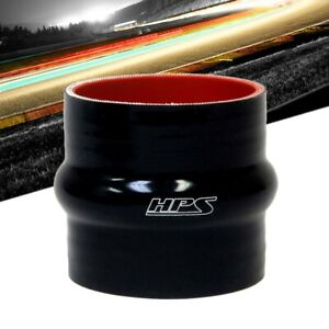 Hps 3 12 80mm Id Black 4 ply Silicone Hump Coupler Hose 3 Long intake Turbo