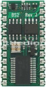 Parallax Inc Bs2 ic Basic Stamp 2 Microcontroller 20mhz 2 Kb Eeprom 24 pin Pdip