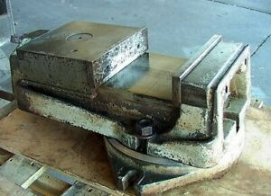 Big Machine Vise Full Open 6 3 8 With Rotation Base