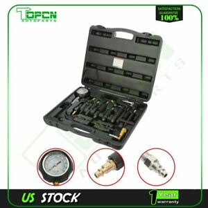Universal 1000 Psi Diesel Engine Compression Tester Gauge Set Kit Car Truck