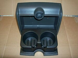 04 08 Ford F 150 Drink Cup Holder For Rear Of Center Jump Seat Black