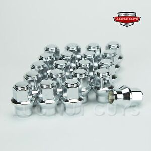 20 14x1 5 Dodge Charger Lug Nuts For Factory Steel Wheels With Hub Caps