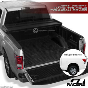 For 2007 2016 Toyota Tundra 6 5 Ft 78 Truck Bed Tri fold Hard Tonneau Cover Lw