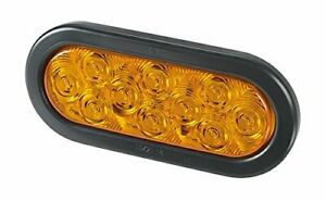 Federal Signal 607101 02sb Signaltech Amber 6 Oval Led Light
