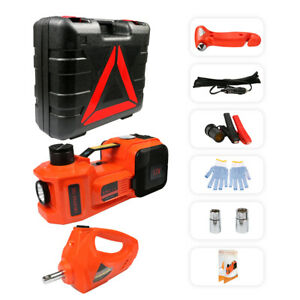 Electric Hydraulic Floor Jack 4 In1 5ton Lift Electric Impact Wrench Repair Tool