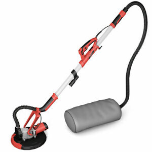 Electric Drywall Sander 800w Adjustable Variable Speed With Vacuum Led Light