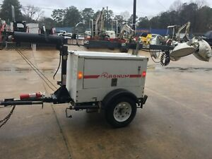 2013 Magnum Mlt3060 Towable Diesel Light Tower Generator