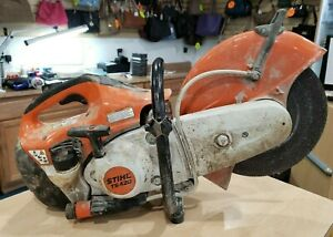Stihl Ts420 14 Professional 66 7 Cc Gas Powered Concrete Cut off Saw Pre owned