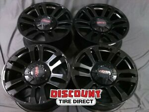 4 Used 20x9 0 170 Mbm Mb Motoring Tko Black Wheels rims 20 Inch 49336