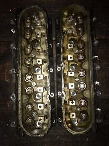 Chevy 4 8 5 3 Cylinder Heads 706 Casting Pair