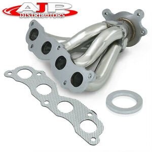 Stainless Steel 4 1 Exhaust Header Manifold For 2002 2006 Acura Rsx Civic Si