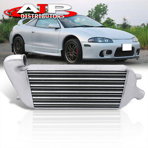 29 x9 75 x2 5 Bolt on Fmic Turbo Aluminum Intercooler Kit For 1995 1999 Eclipse