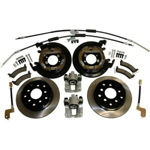Rt31043 Rt Off road Brake Conversion Kits 2 wheel Set Rear New For Jeep Wrangler