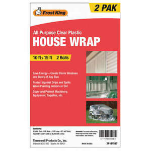 Frost King 2p101527 House Wrap Clear 15 Ft pk2